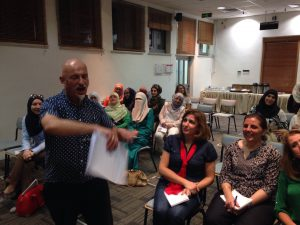 Teacher training at British Council, Amman