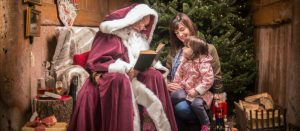 Old Father Christmas at Saltram House Photo by Steve Hayward