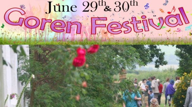 THIS WEEKEND Goren Festival June 29th – 30th