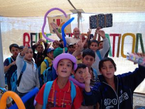 School's out in Z'atari