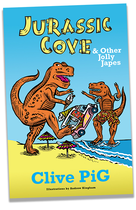Cover of the Jurassic Cove Book