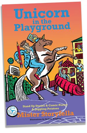Cover of Unicorn in the playground