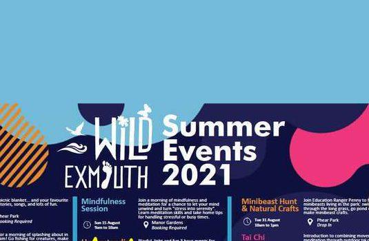 PHEAR PARK AUGUST 4th  Wild Exmouth 10.00 – 3.00